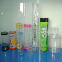 clear round acrylic tube large diameter tube led light milky color frosted 2016 plastic tube