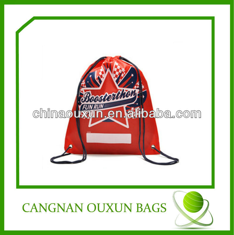 new design nylon drawstring bag waterproof