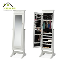 Mirror furniture cabinet jewellery bedroom with cabinet jewelry