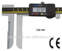 "120-325 20-200mm/0.72-8"" New Type LCD Display Mechanical Slide Metric/Inch system Long Claw Inside Measurement"