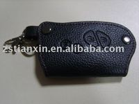 genuine leather key holder/real leather key case
