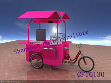 2015 attractive designs bicycle food kiosk,mobile vending food van for sale,mobile food cart kiosk