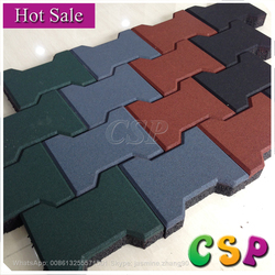 Outdoor cheap Excellent quality hot sale pathway rubber flooring mats