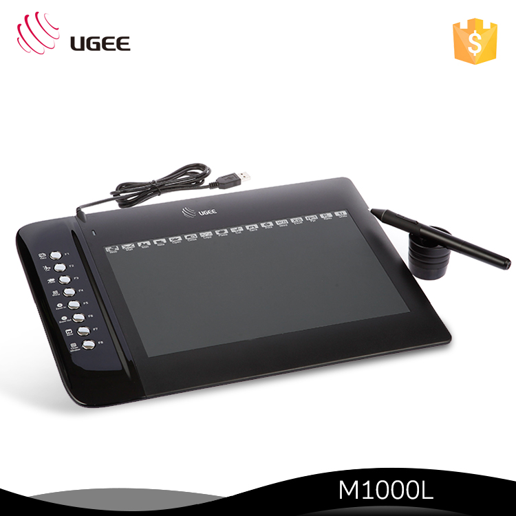 FCC / CE / CCC/ Rohs Certifications Ugee Graphics Tablet With 8 Shortcuts