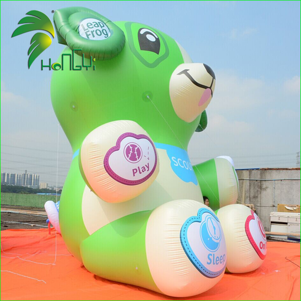 Famous Replica Toy Floating Inflatable Bear Cartoon Balloon Animal Model For Advertising Parade