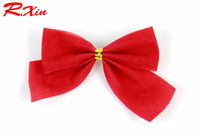 Christmas decorations The Christmas tree bow to hang Bowknot is wholesale butterfly bow tie