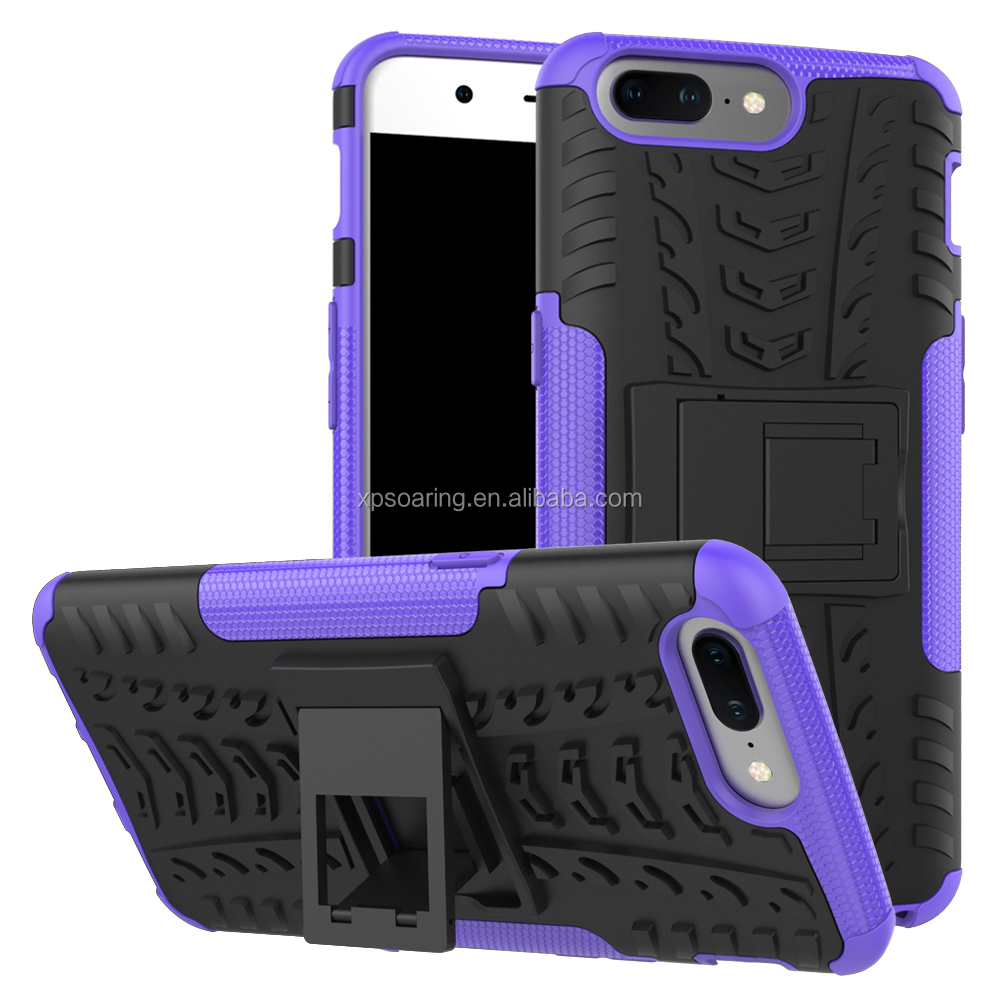 Tyre design shockproof case skin cover for One Plus Five