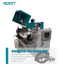 Horizontal Sand Mill For Paint , Pigment , Ink / Sand Mill Machine / Paint Sand Mill