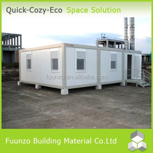 Movable Economical Prefab Container Office with WC