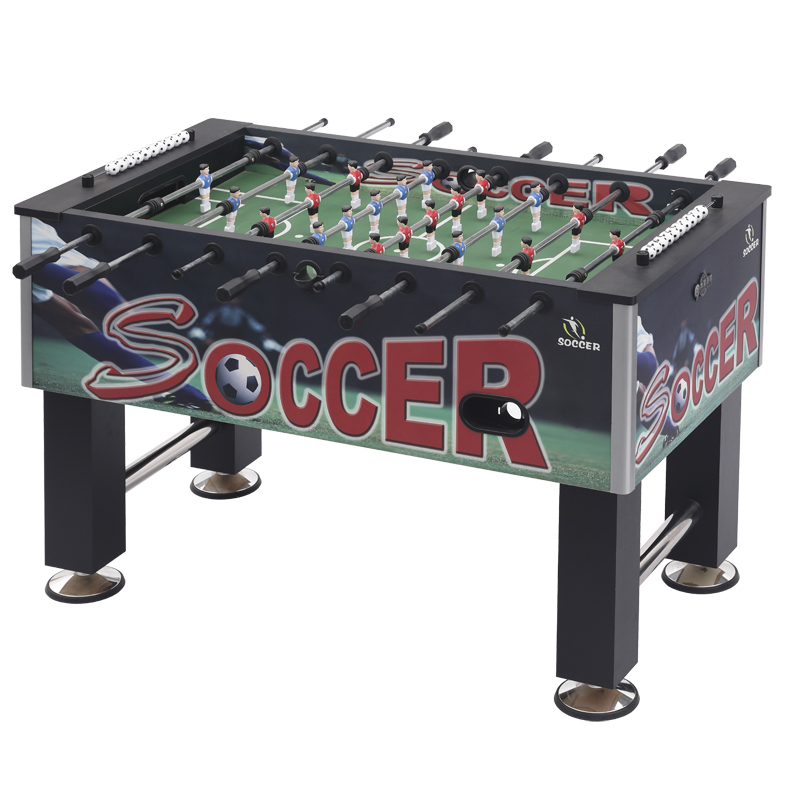 "55"" indoor promotion soccer foosball table,tornado foosball table for sale"