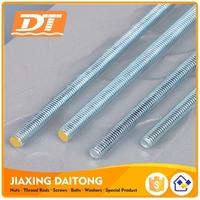 Din975 Long Thread Rod M3-M72 Grade 4.8 8.8 10.9 12.9 Carbon Steel/Stainless Steel Zinc Plated Black HDG Plain Threaded Rods