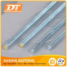 Din975 Long Thread Rod M3-M72 Grade 4.8 8.8 10.9 12.9 Carbon Steel/Stainless Steel Zinc Plated Black HDG Plain Threaded Rods