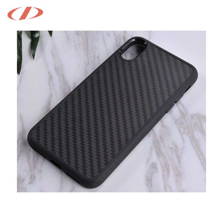 Mobile phone accessories shockproof cover 2 in 1 tpu carbon fibre case for iphone X, for iphone X 10 case hybrid cover