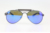 dropship american brand polarized lens stainless steel wooden male sunglasses