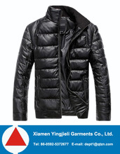 2013 Fashion Basic Winter Men Jacket Black for Sale