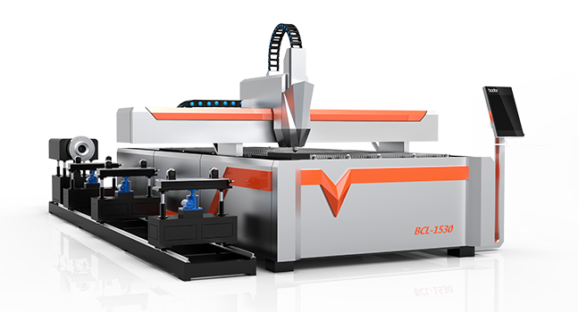 China Multifuncion Large Power 1500W 6m Fiber Laser Round Tube/Metal Sheet Pipe Cutting Machine