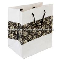 2012 Eco Friendly Fancy Printed Paper Shopping Bags