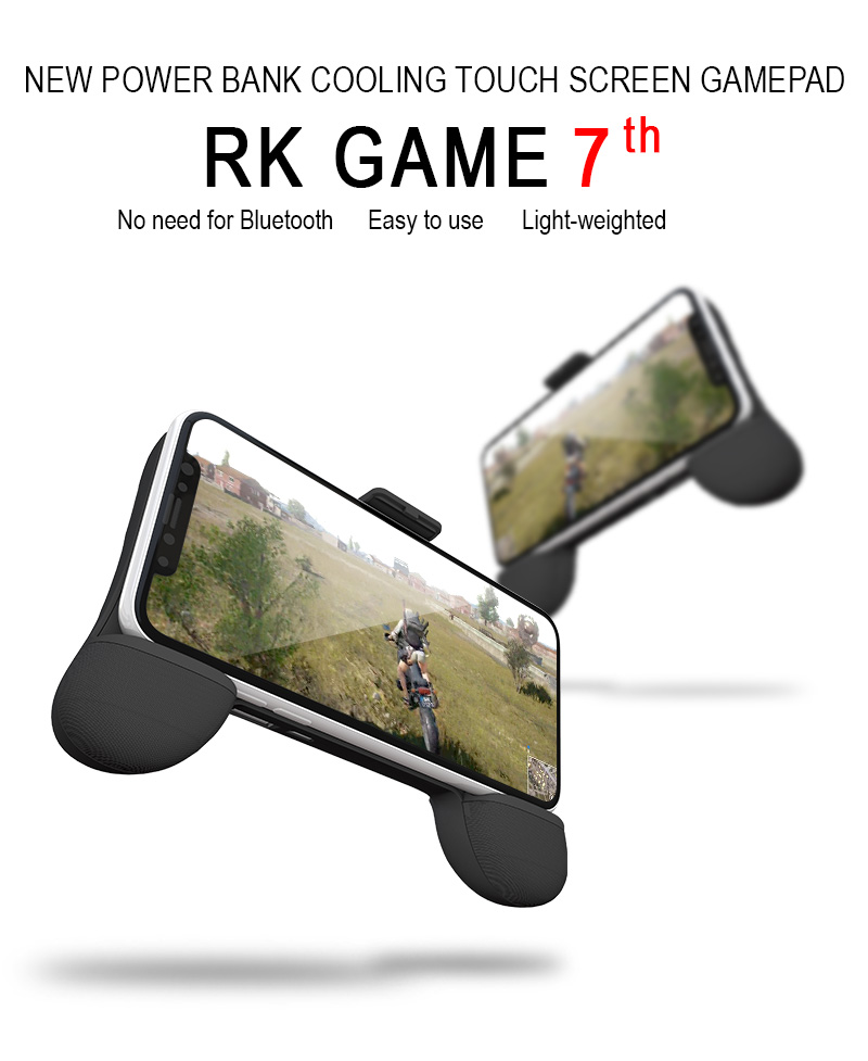Advanced ergonomic joystick RKGame 7th Gen smartphone gamepad android mobile joystick