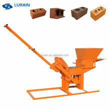 LY2-40 Small Manual Clay Brick Making Machine for Sale in Thailand
