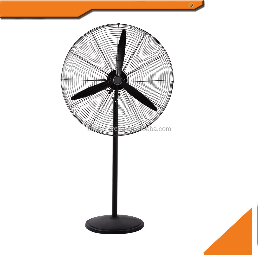 "20"" 26"" 30"" inch air cooling industrial ventilation fan aluminum blade"