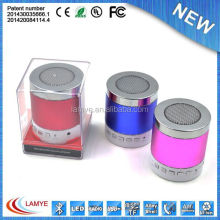 High quality super bass speaker bluetooth 2014 completive with SD/TF card
