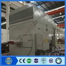 industrial usage ac motor YRKK800-8 2500KW 3300V electric moters