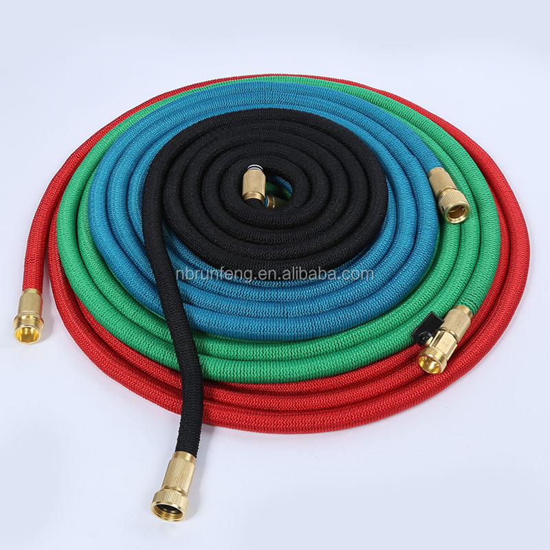 100 FT Portable Magic Expandable Water Flexible Natural Latex Garden Hose