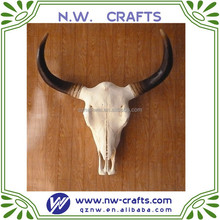 wholesale Resin buffalo cow skull
