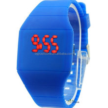 New Womens mens kids Silicone Band Touch Screen Sports LED Watch Bracelet