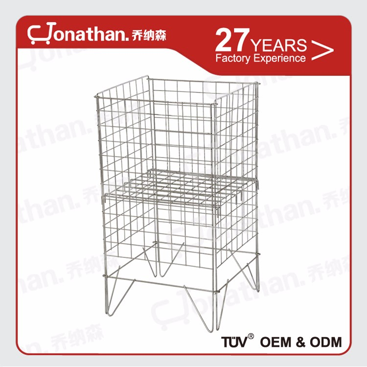 Dismountable cage B wire mesh metal promotional cage