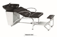 Electric shampoo chair with auto footrest and massage function