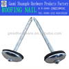 SD umbrella head roofing nails with rubber washer(nail factory)