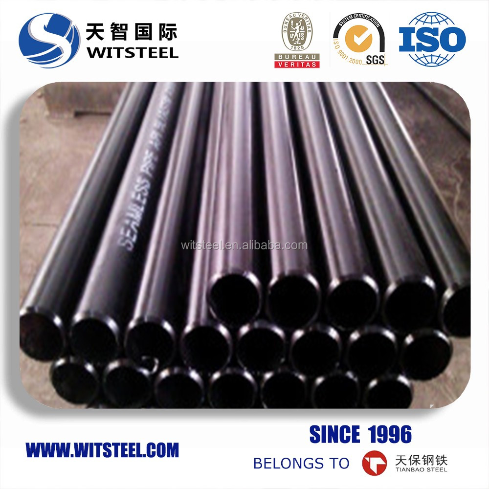 Low Carbon cement lined carbon seamless steel pipe for wholesales