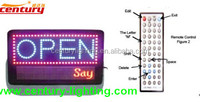 programmable led open sign