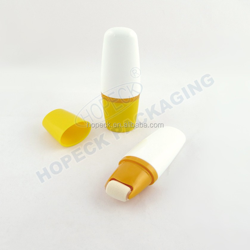 30ml, 50ml, 75ml, 100ml, 150ml, 200ml PE tottle bottle with sponge applicator