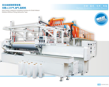 2 Meter 3 or 5 layer fully automatic cast stretch film production line