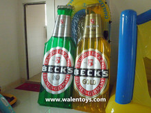 hot sale Inflatable beer bottle Mattress, Inflatable Beer bottle shape Mattress