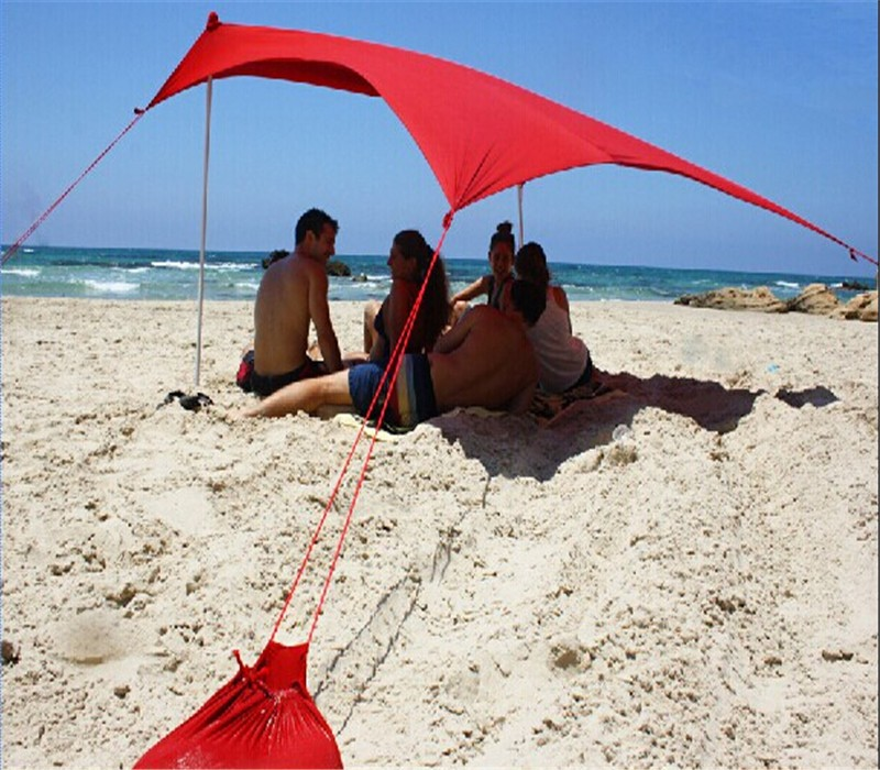 Great Quality UV 50+ Lycra beach tent , sunshade beach tent , beach tent