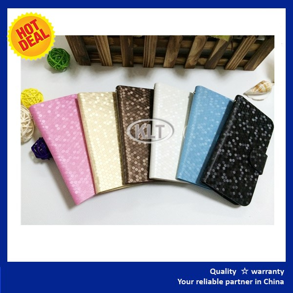 Official website Book style flip leather cover case for mobile phone for ZTE