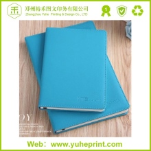 High quality professional office customized journal print leather school diary cover design