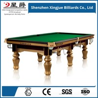 Hot selling game table&elegance snooker table OEM