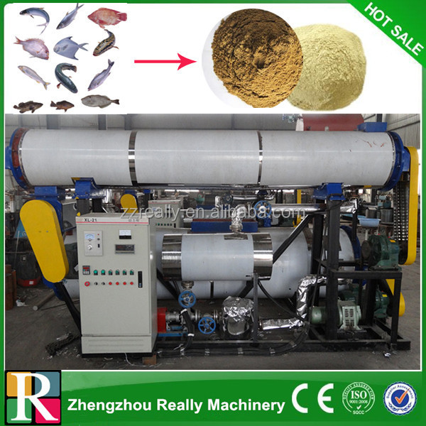 Fsh Processing Equipment for animal dog,pig,duck,chicken,cattle, fowl, Goose feed/fishmeal processing equipment price