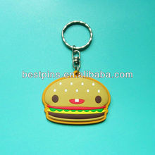 similation food key chain