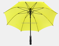 customized promotional windproof mens umbrella with binding