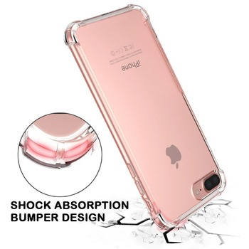 Mobile accessories phone case for iphone 8 case, shock-proof tpu mobile phone case for iPhone 7