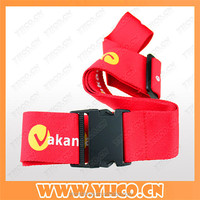 high quality printed colorful promotional luggage belt