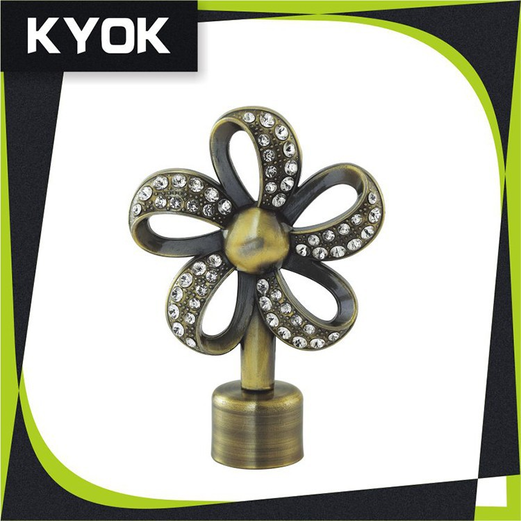 China manufacturer home decor modern finials for fancy for Home decor manufacturer