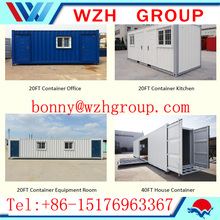20ft flat pack container house for rent , sell or office