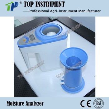 (With volume weight) Digital Grain Moisture Meter for paddy wheat soybean vegetables seeds etc