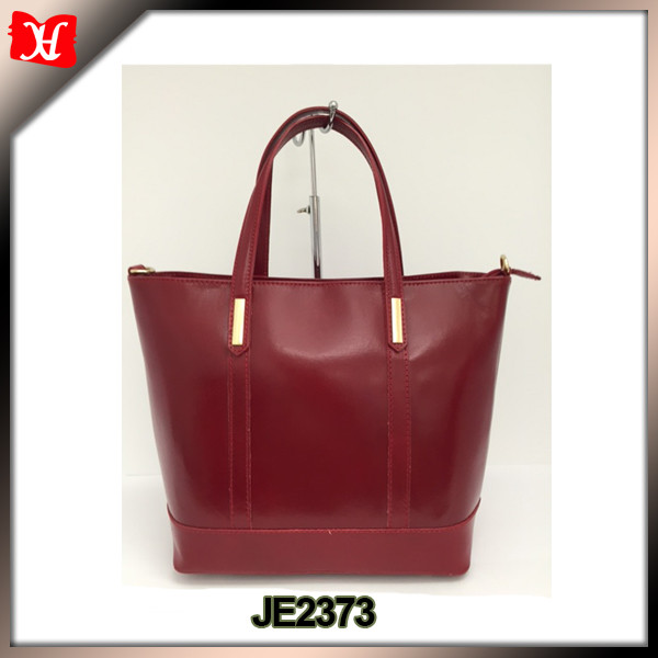 XingHao Factory Customize Vintage Italian Leather Tote Bag For Women